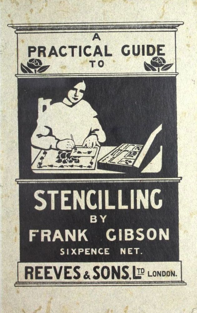 Practical Guide to Stenciling, 1913.  From the Association for Preservation Technology (APT) - Building Technology Heritage Library, an online archive of period architectural trade catalogs. It contains thousands of catalogs. Select your material  and become an architectural time traveler as you flip through the pages. This catalog comes from the collection of the Canadian Centre for Architecture.