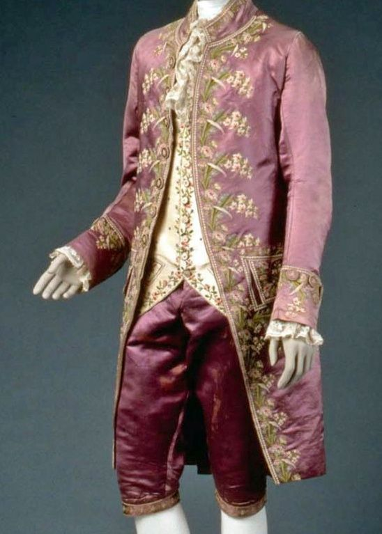 men's clothing in the 18th century | ... formal suit in ...