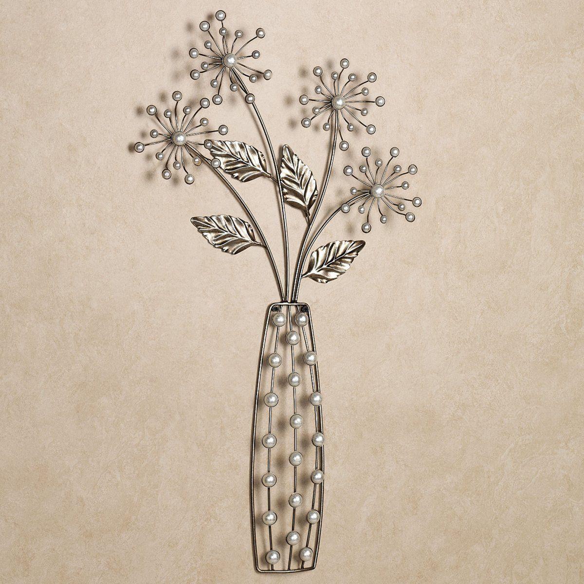 Elegant floral sensation metal wall art for living room decoration ideas decoration qdlake