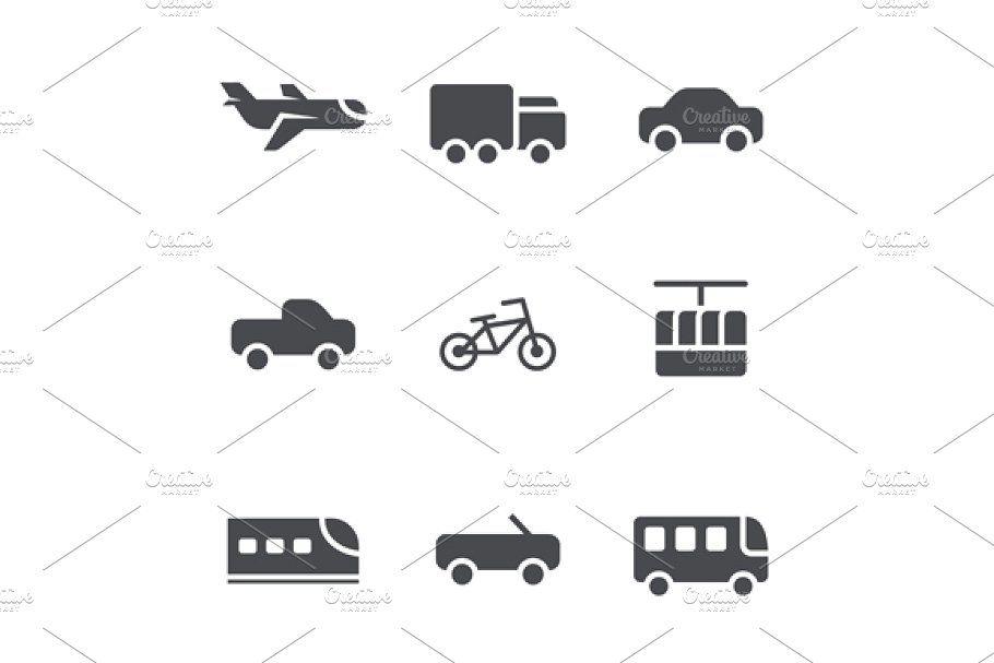 Modes Of Transport Mode Of Transport Vintage Icons Van Signs