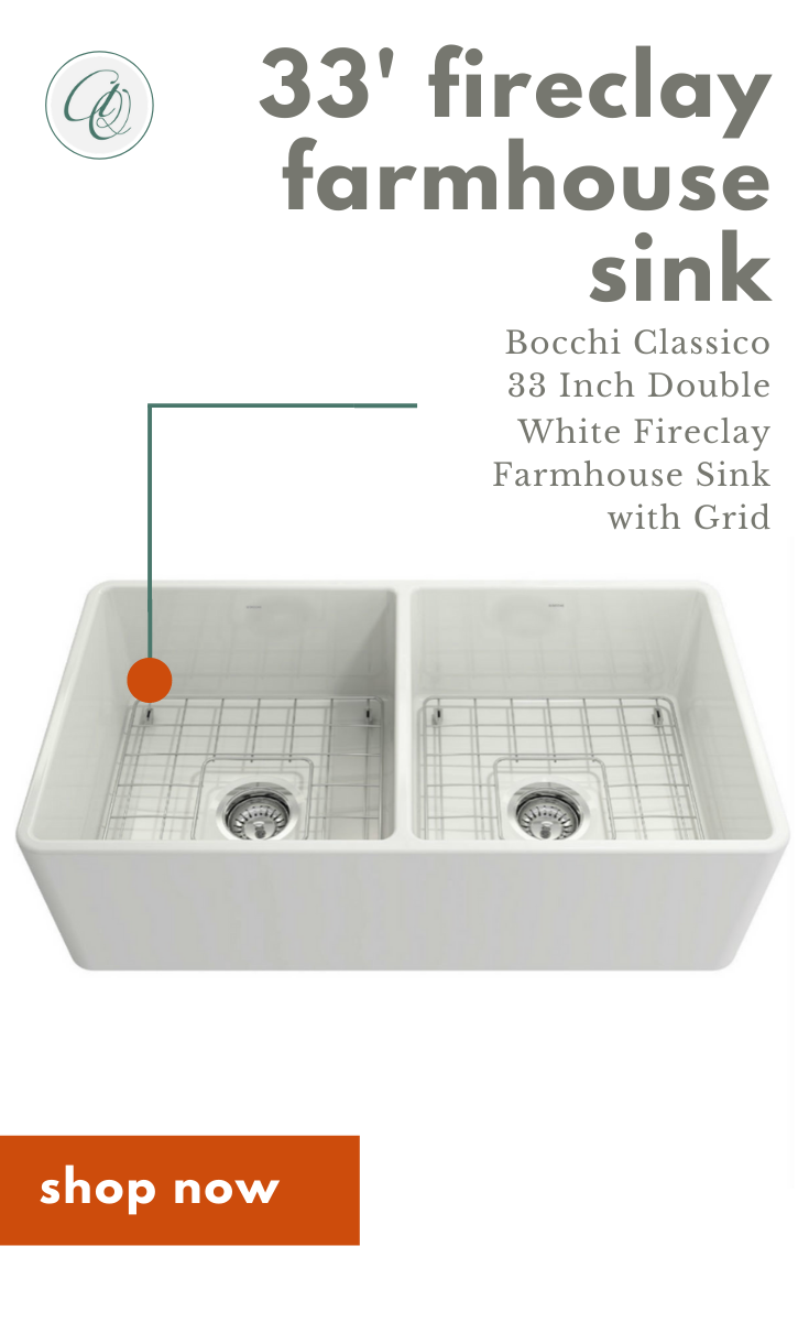Bocchi Classico 33d Farmhouse Apron Front Sink Double Bowl Free Grid In 2020 Farmhouse Sink Installation Farmhouse Sink Fireclay Sink