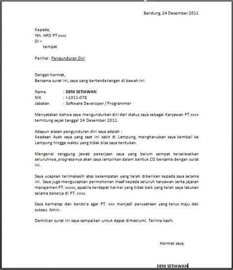 Contoh Surat Resign Karena Contoh Surat Resign Karena Have Some