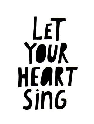 """""""If you follow, follow the voice in your heart, always know that's how to find who you are. So hold on; never let go of your dreams. You'll see the magic; believing is where it begins. Life is a beautiful thing.."""" ~ 'Let Your Heart Sing,' Katharine McPhee"""