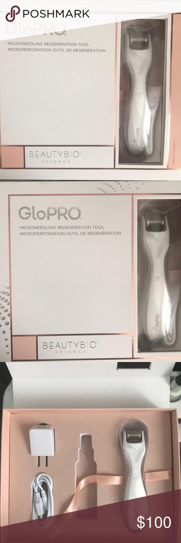 GloPro Microneedling Set Used ONCE. Fully Sanitized