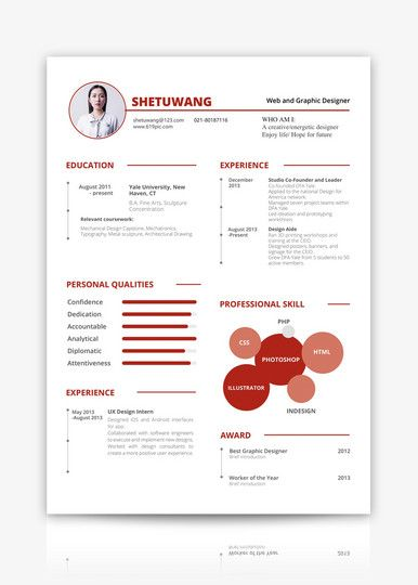 resume sample download cv template lovepik com