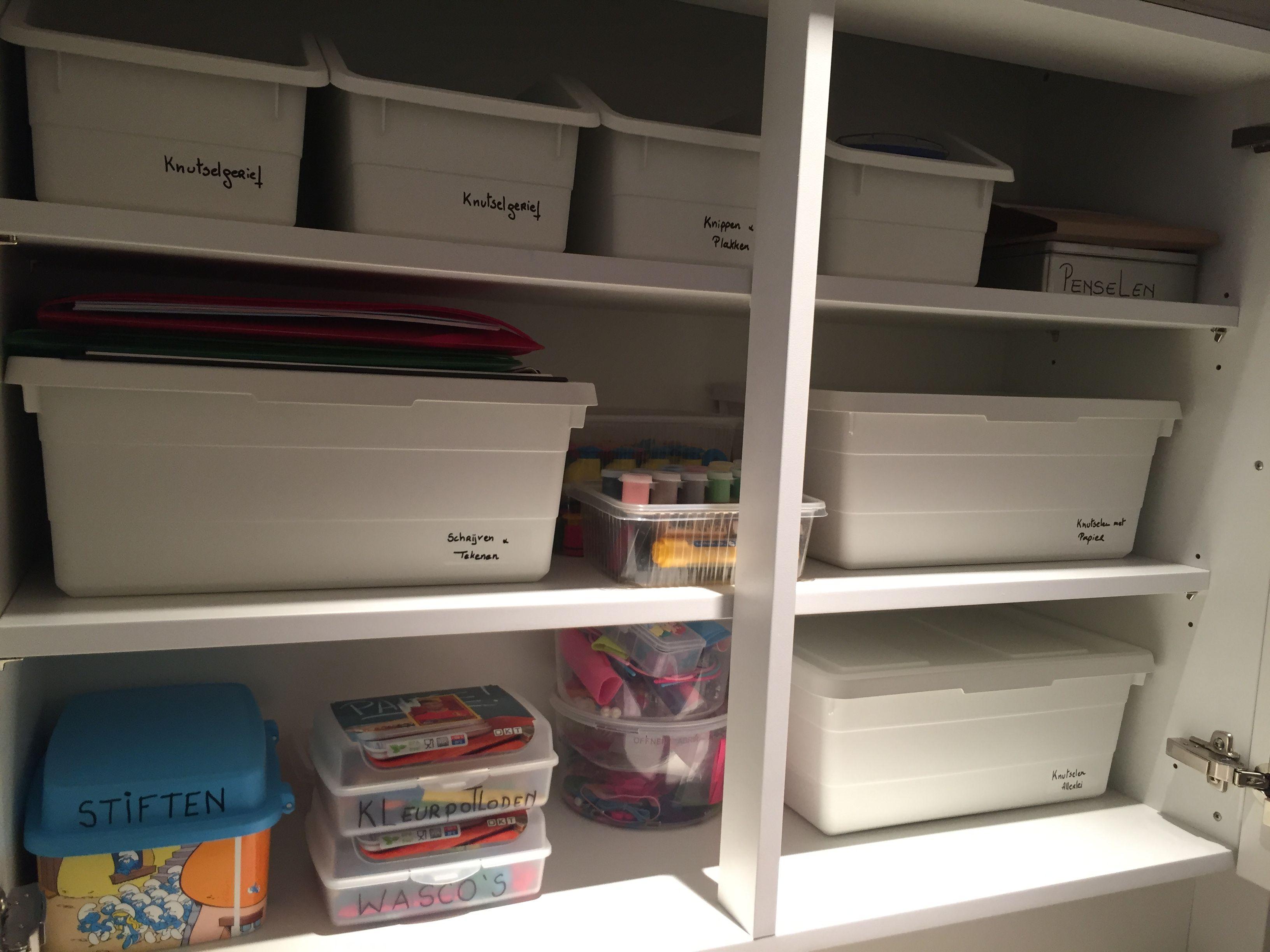 Ikea Sockerbit Organizing Hack Ik Wou Dat Ik Deze Kast