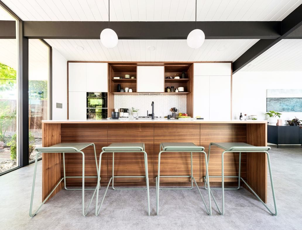 Best Eichler Kitchen Renovation Mid Century Modern Kitchen 400 x 300