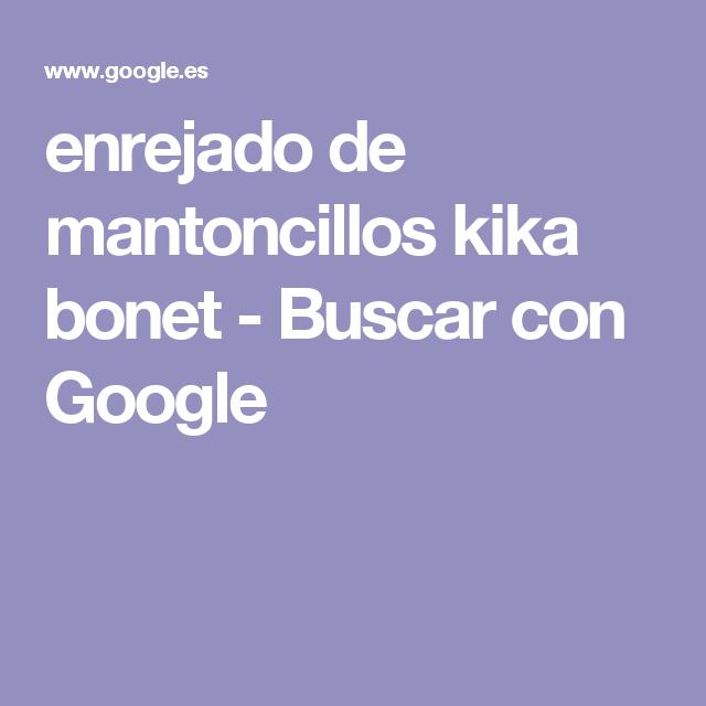 enrejado de mantoncillos kika bonet - Buscar con Google