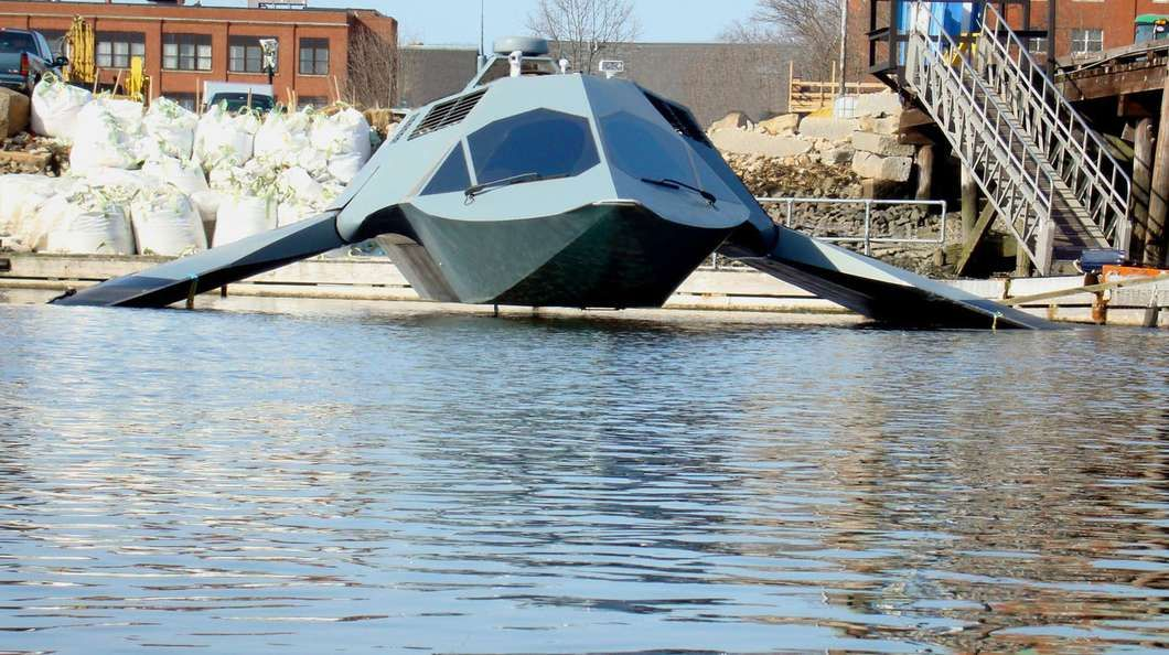 GHOST is a prototype military boat, that is claimed to be