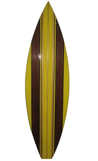 TIKI SOUL DECORATIVE SURFBOARD SURF - Salty Deck Surfboard decor ...