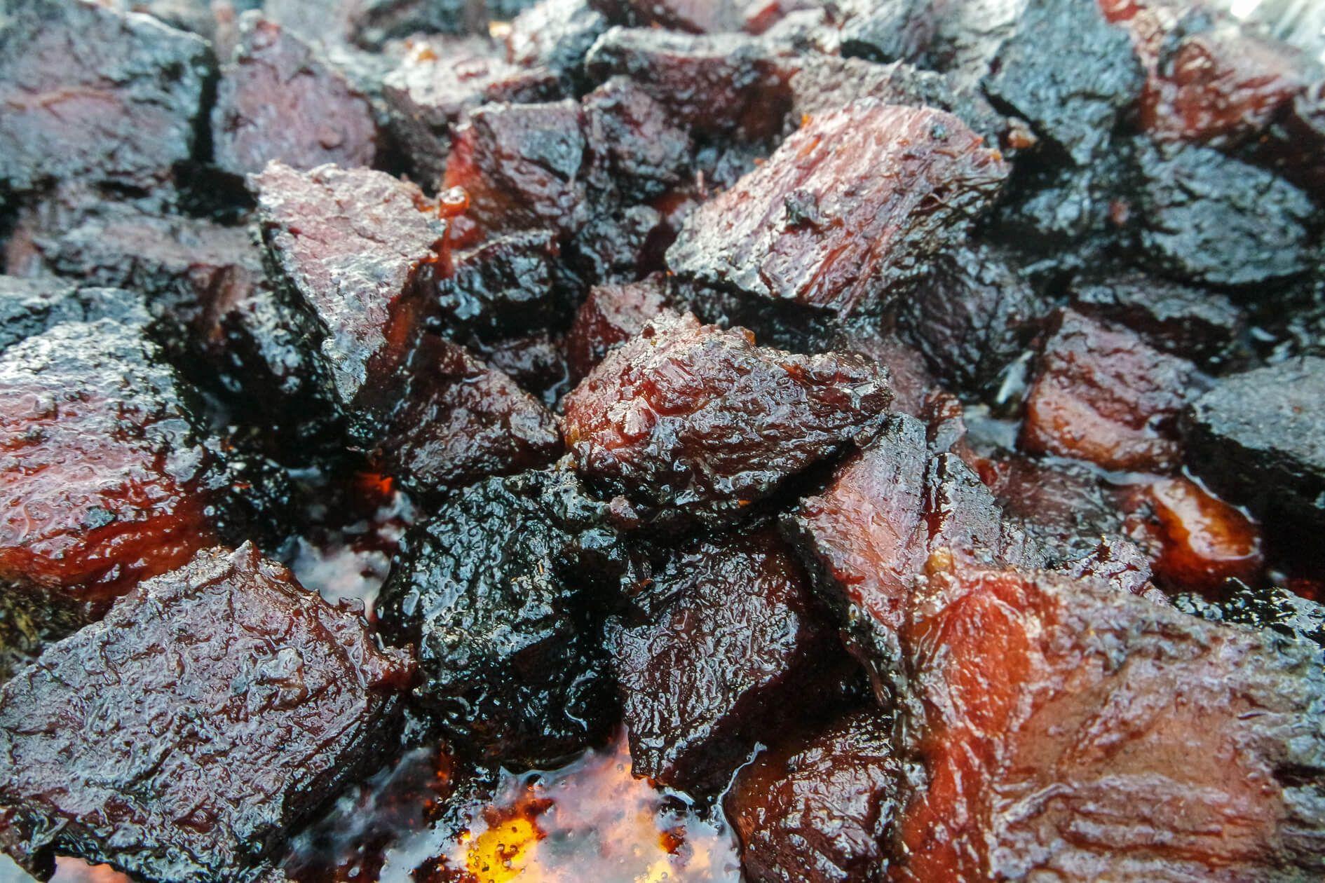 How To Make Best Ever Bbq Brisket Burnt Ends Jess Pryles Recipe Brisket Burnt Ends Bbq Brisket Brisket