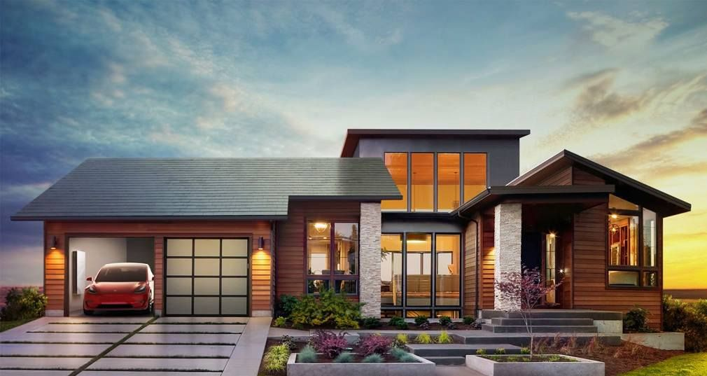 techo solar tesla Solar roof shingles, Tesla solar roof