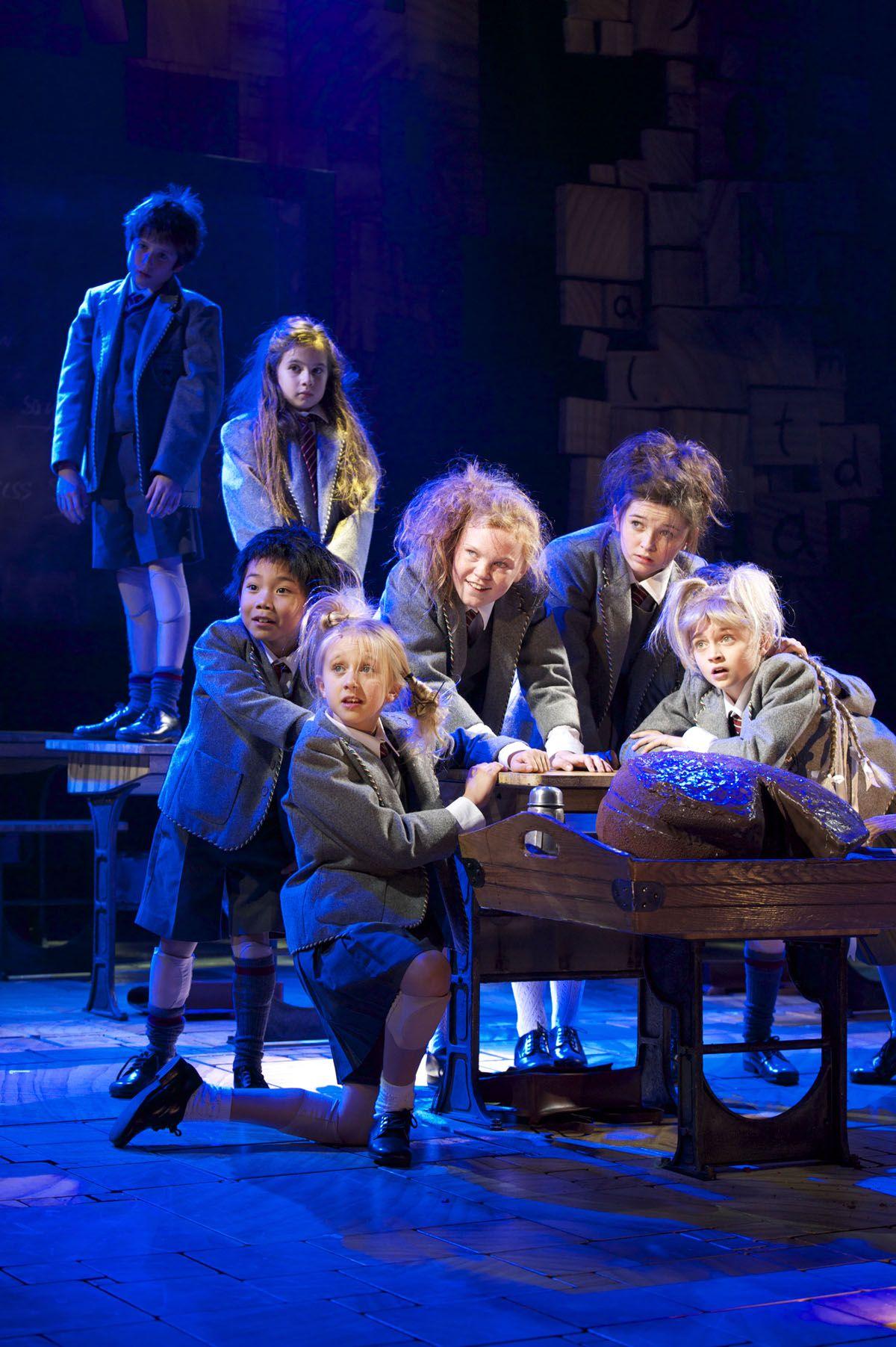 Original London Cast Musical london, Matilda, Matilda
