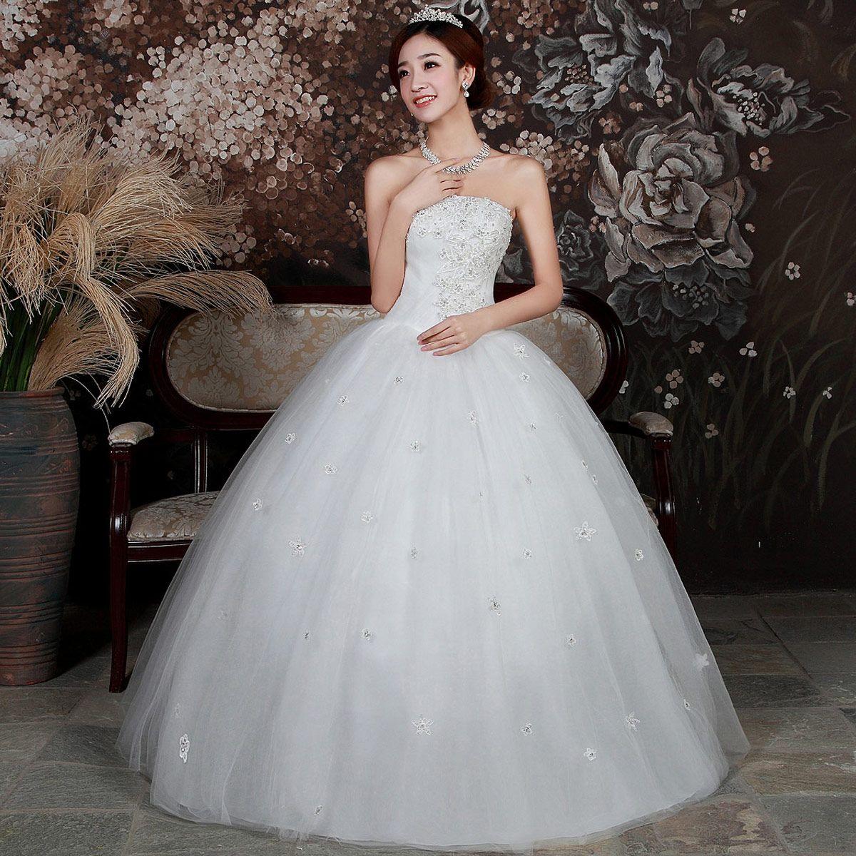 f10e70935d Fotos de vestidos de 15 años color blanco y estilo princesa