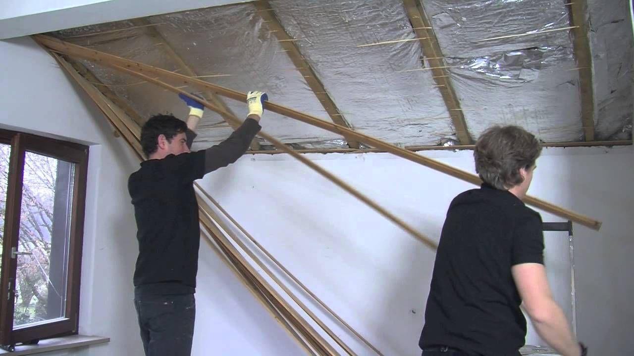 #Isolation Toutes les étapes pour isoler écologiquement une toiture par l'intérieur # ...