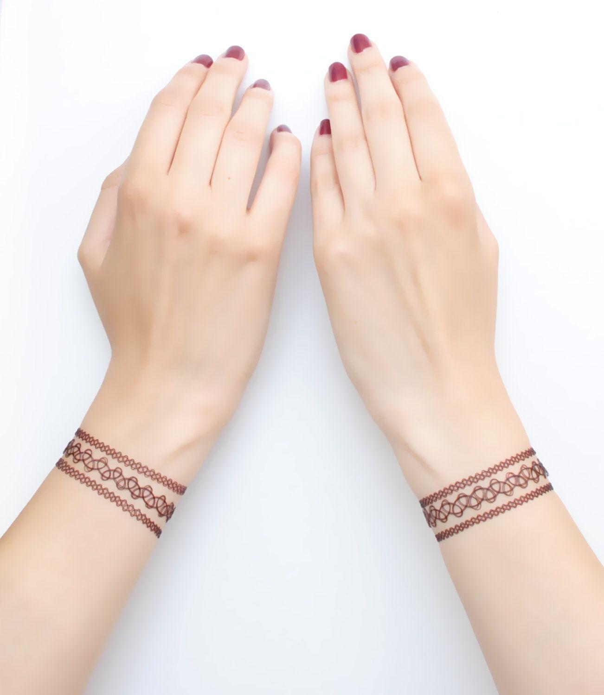 Bracelet Tattoo B W Tattoos Wrist Tattoos Tattoo Bracelet