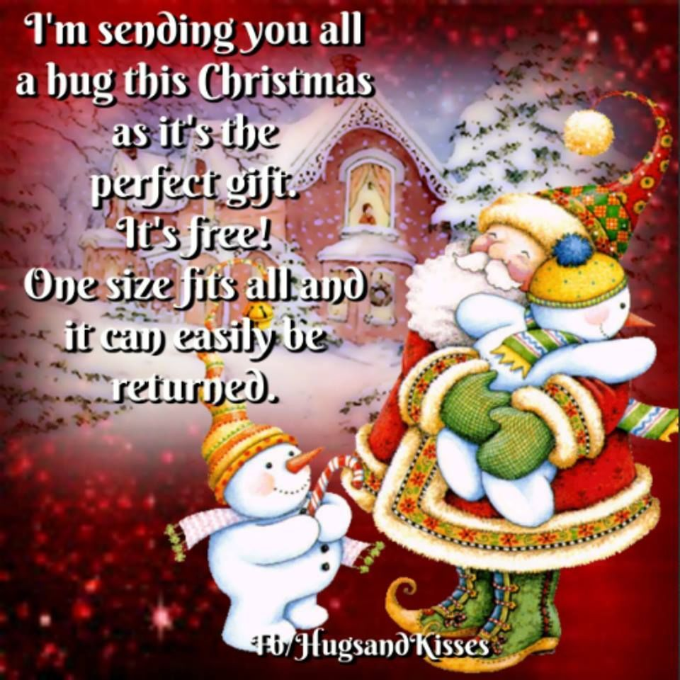 Sending you all a hug this christmas inspiring ideas pinterest sending you all a hug this christmas christmas greetingschristmas christmaschristmas quotes kristyandbryce Gallery