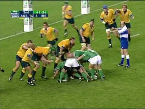 Brian O Driscoll Stars At Rwc 2003 With Images Rugby World Cup Rugby World Cup