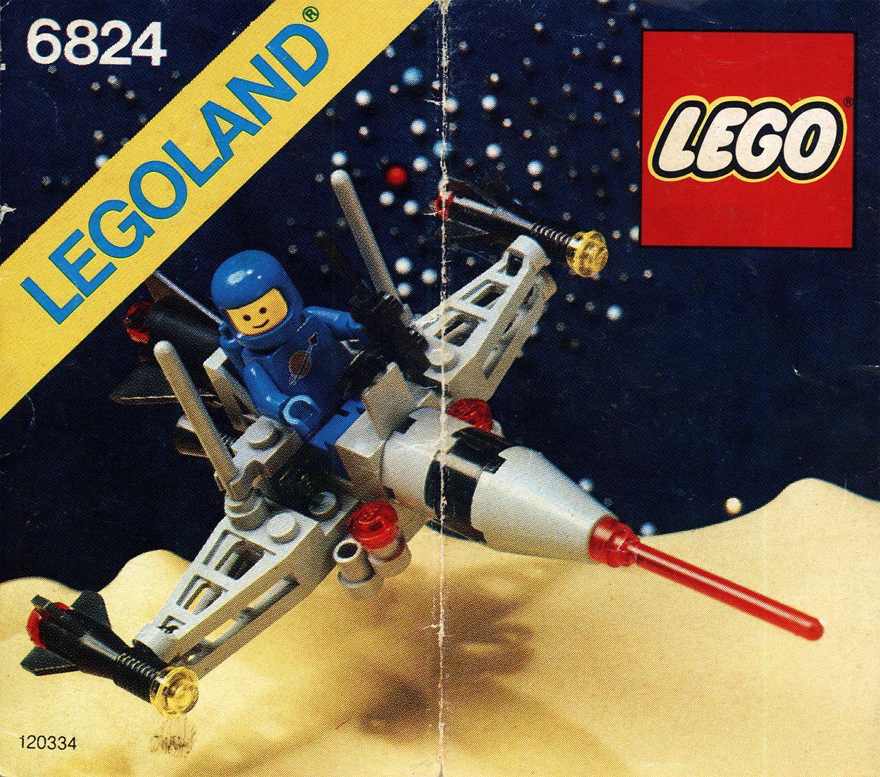 6824 Space Dart /via scanzen #tumblr 1984 #LEGO   LEGO / Space ...