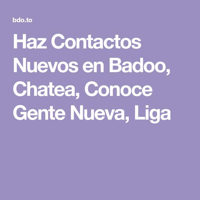Badoo Contacto