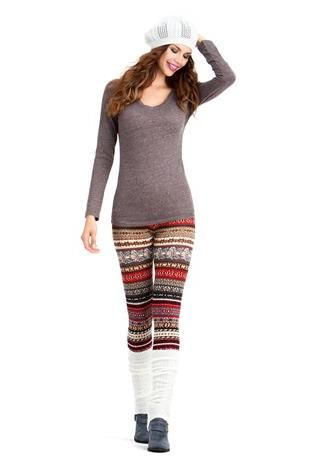 FAIR ISLE SWEATER LEGGINGS the perfect pair. Buying these on Friday!