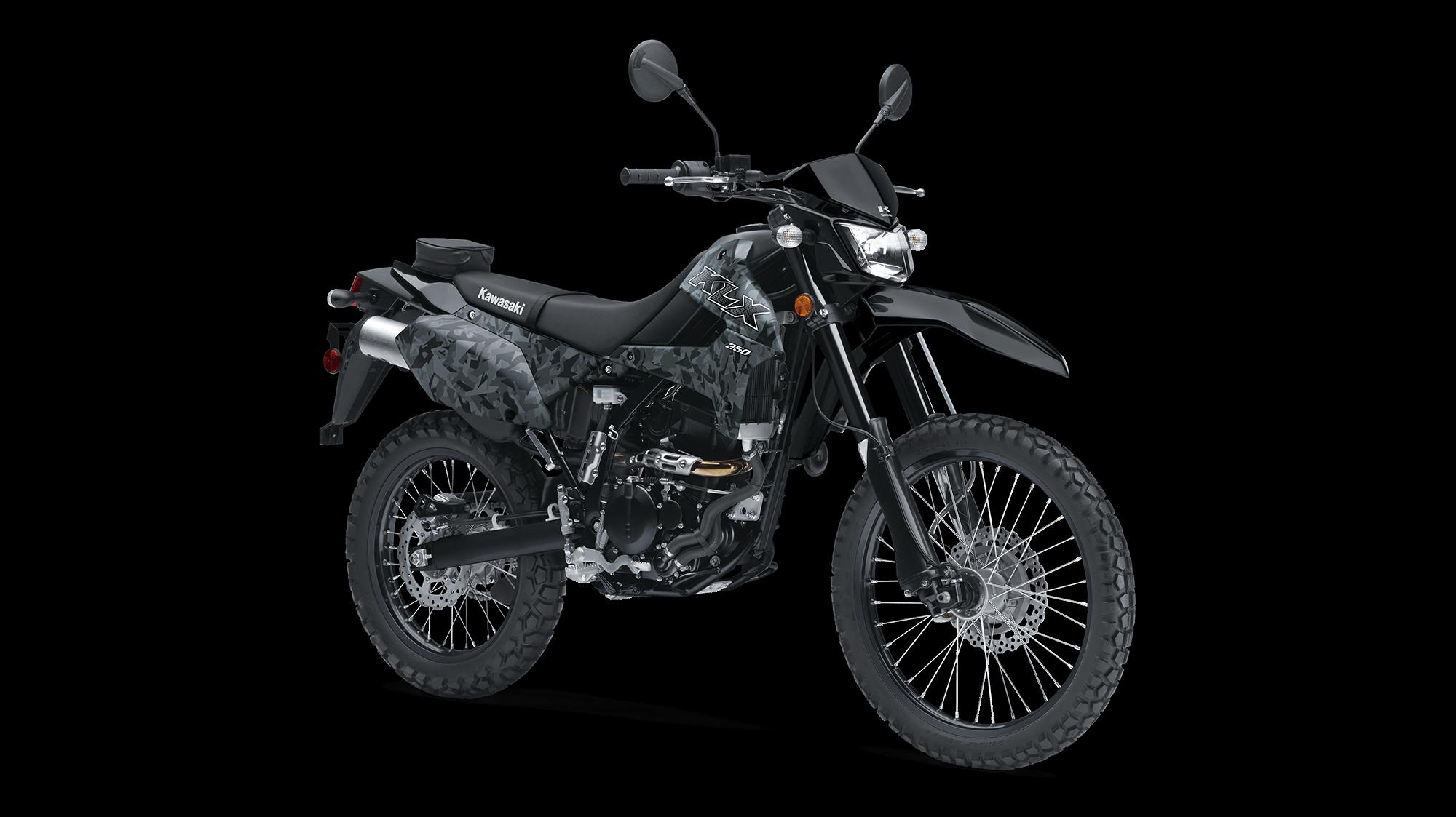 2020 KLX®250 CAMO KLR™/KLX® Motorcycle by Kawasaki