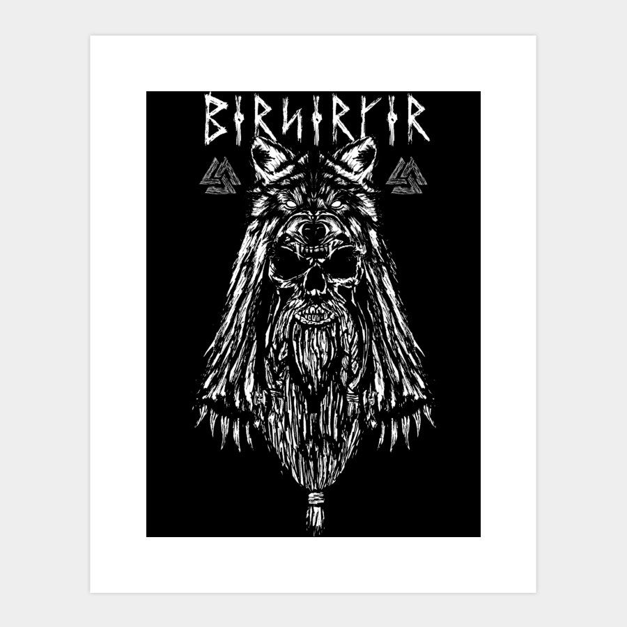 Viking Berserker Art Print By KieronBDesign Design By Humans