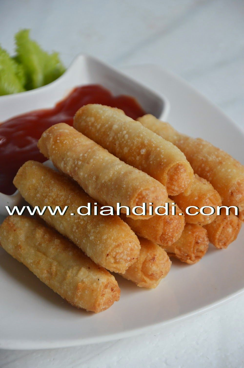 Diah Didi S Kitchen Pangsit Udang Gulung Resep Masakan Ide Makanan Resep