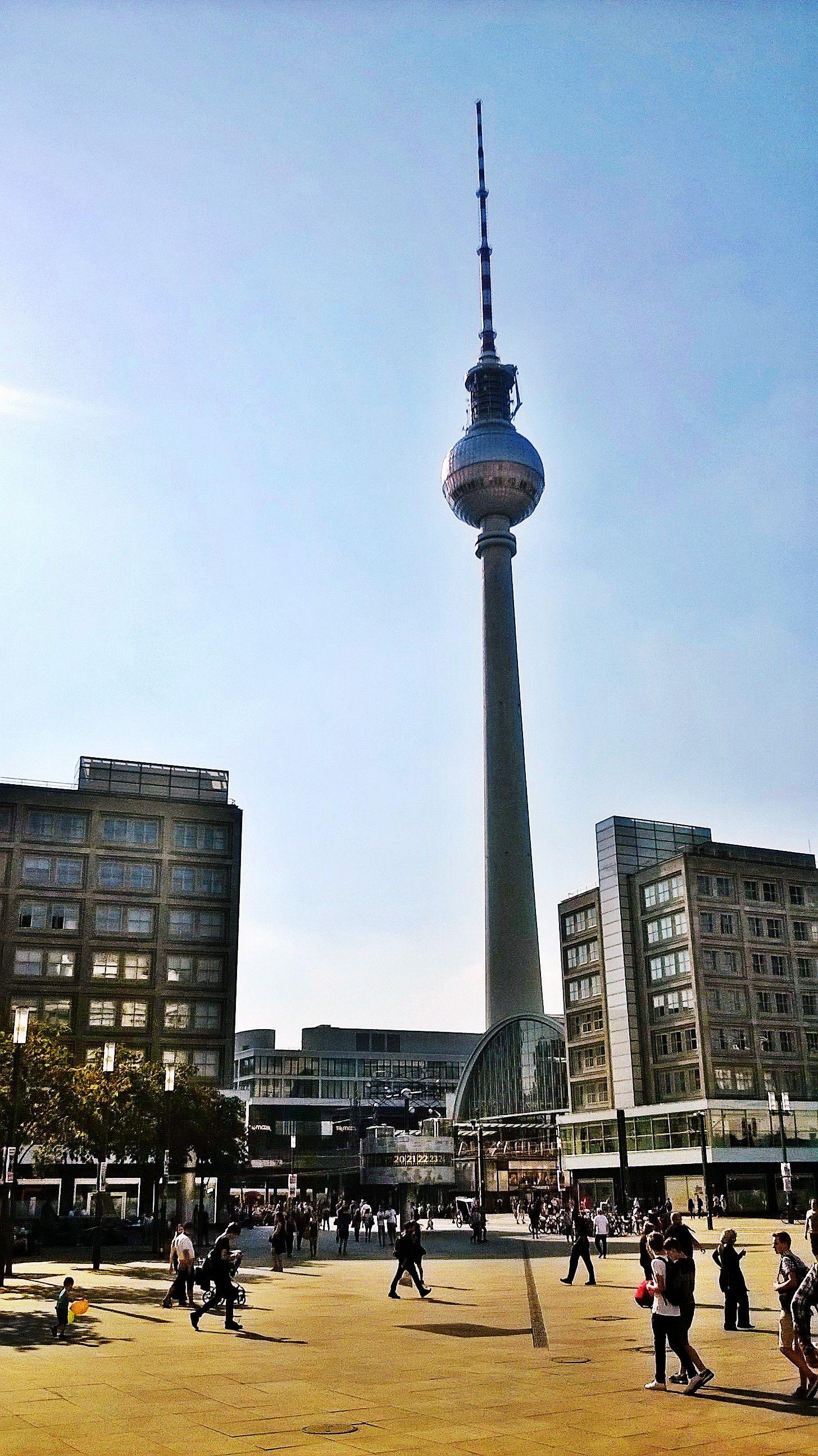 Berlin Alexanderplatz Fernsehturm Fernsehturm Berlin Alexanderplatz Turm