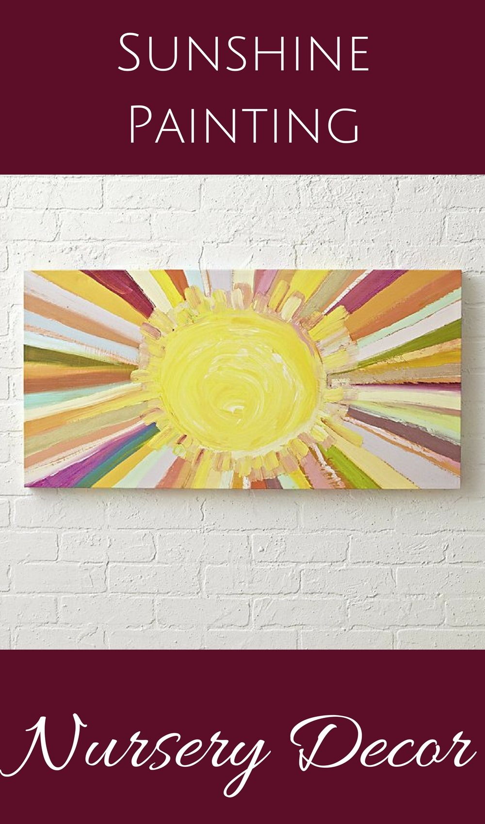 Bring a little sunshine into your home with this bright and sunny ...
