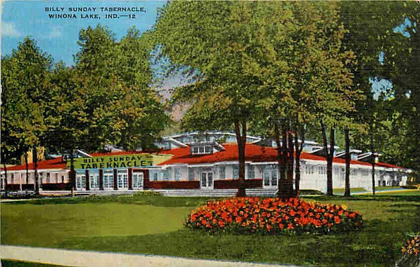 Winona Lake Indiana Winona Lake Indiana In 1940s Billy Sunday