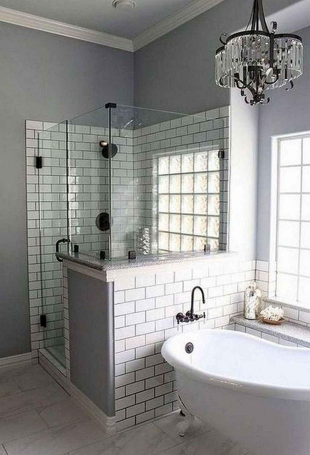05 Modernes Bauernhaus Master Bathroom Remodel Ideas In 2020 Bad Fliesen Designs Badezimmer Renovieren Dusche Umgestalten