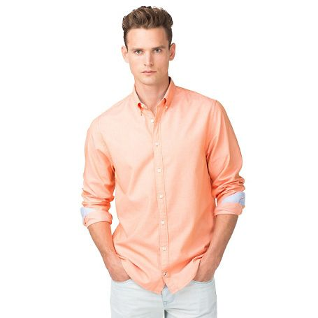 Tommy Hilfiger Classic Shirt - vice orange - Tommy Hilfiger Casual shirts - main image