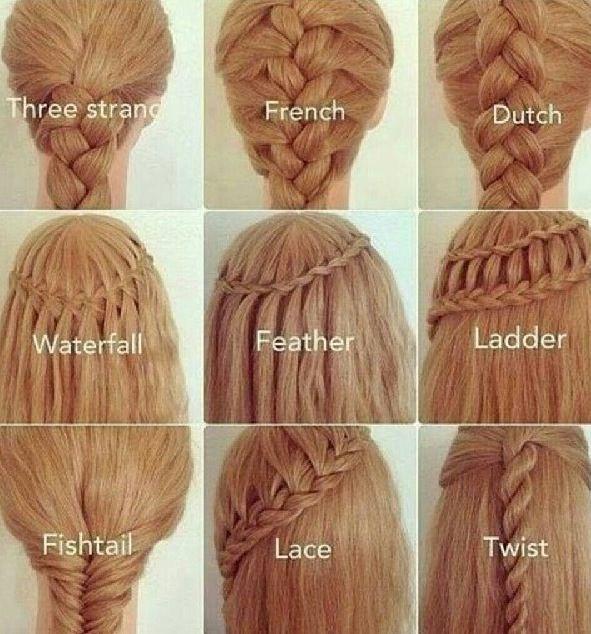 Lovely braids - popular hair tutorials photo