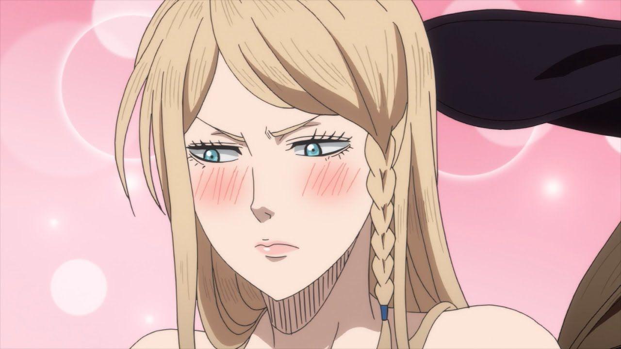 Vanessa Vs Charlotte Black Clover Simuldub Clip Black Clover Manga Black Clover Anime Clover