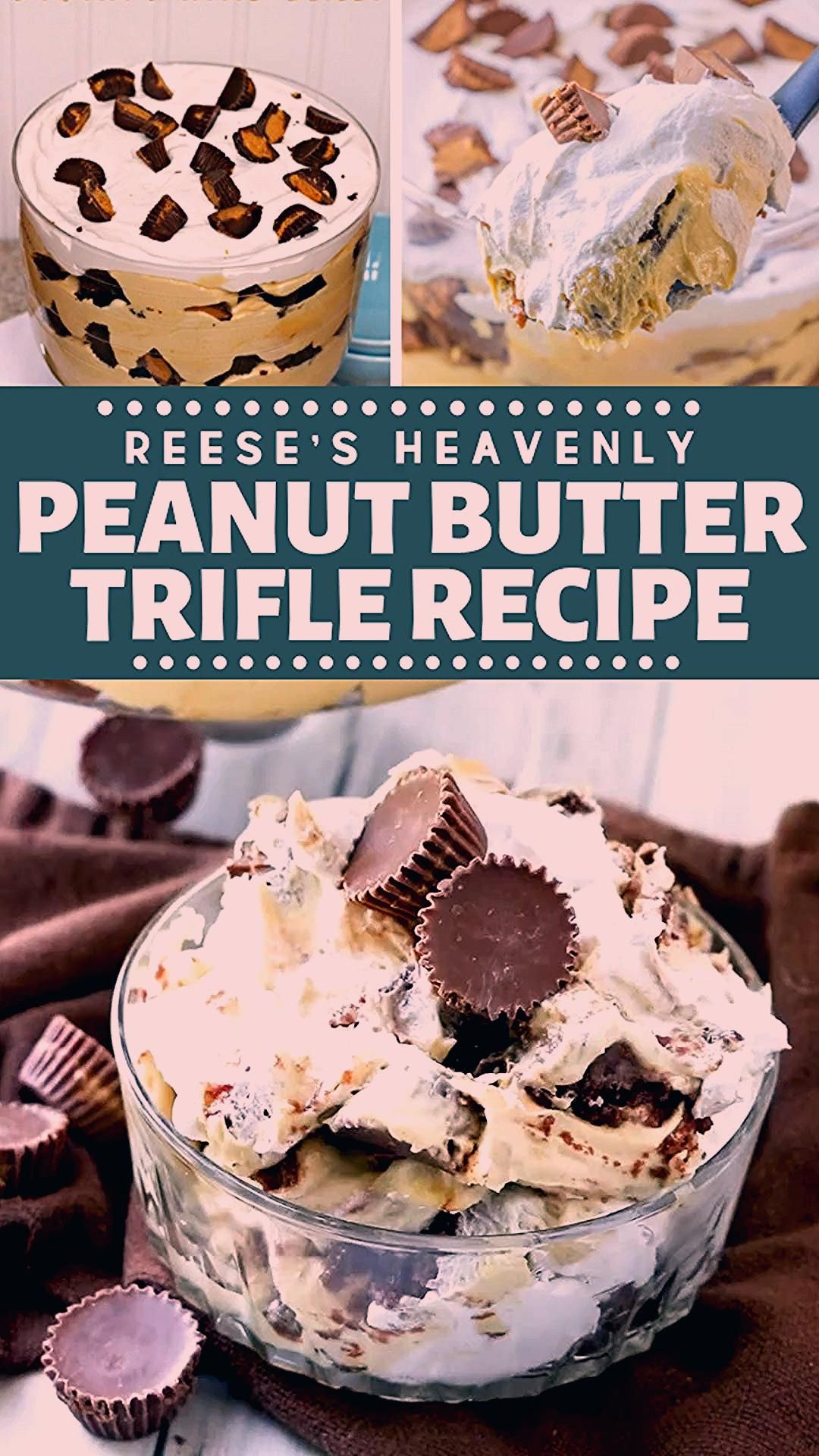 Photo of Reese's Heavenly Peanut Butter Trifle Recipe