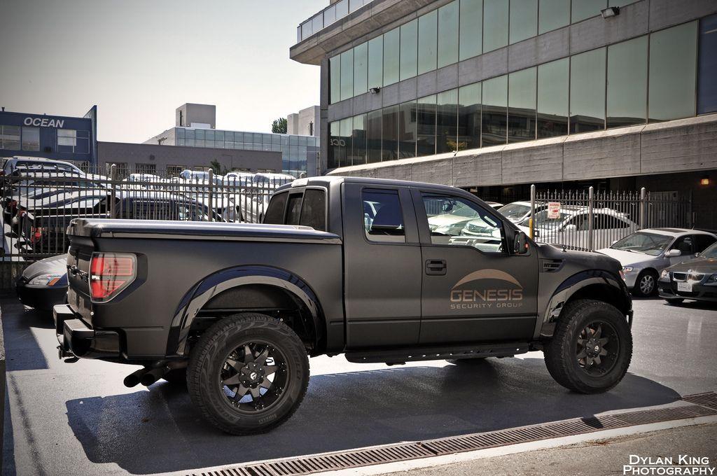 Matte black Ford F150 Raptor | Ford raptor, Matte black ...