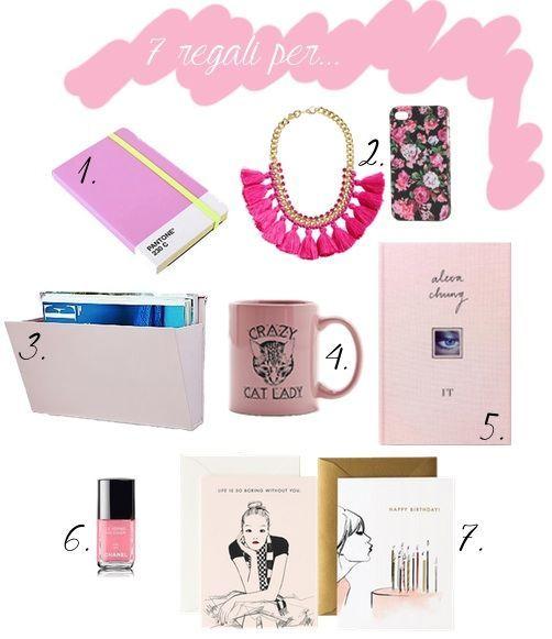 idee regalo color rosa di urban outfitters h e m smalto chanel