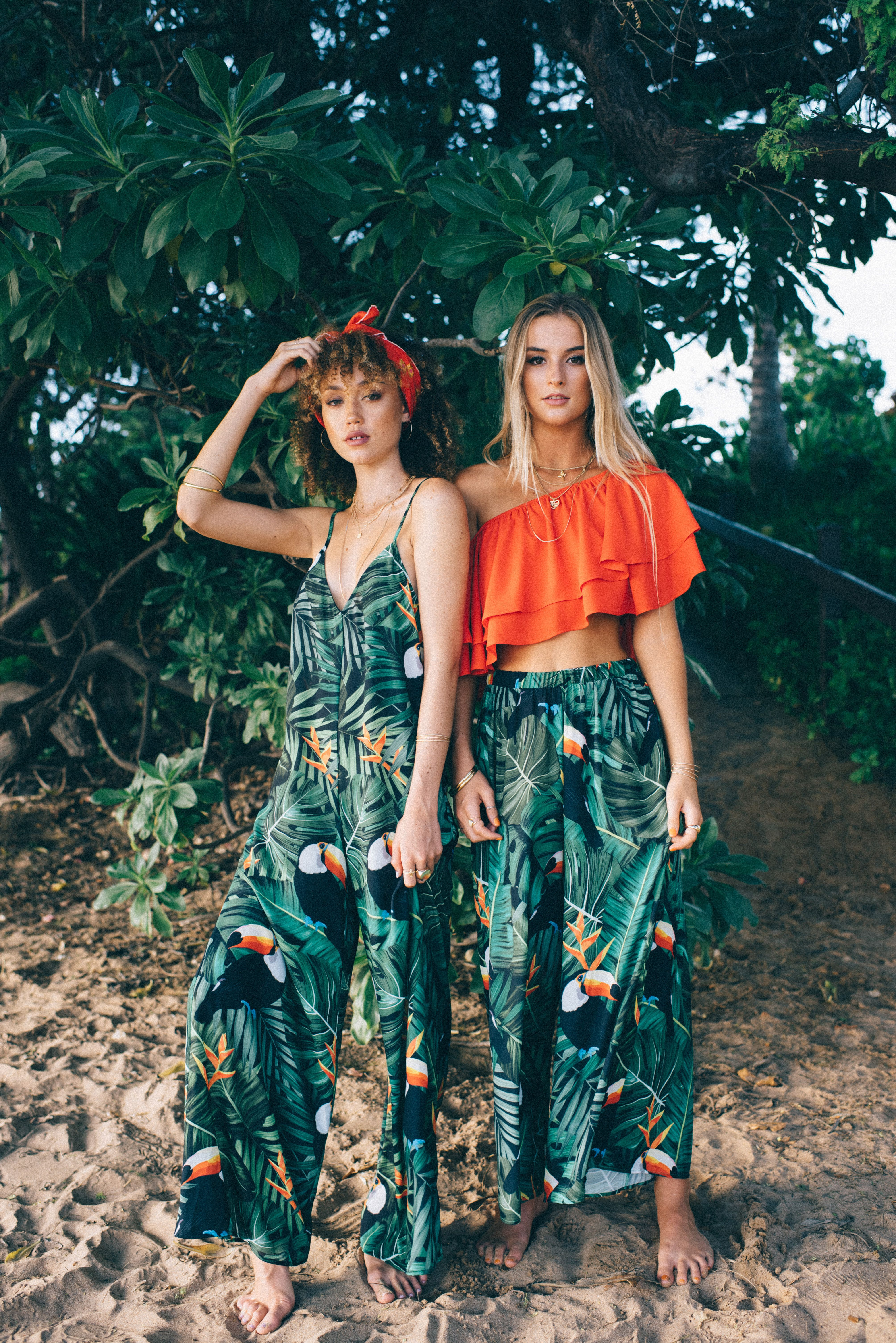 show me your mumu x hawaii  beach party outfits luau