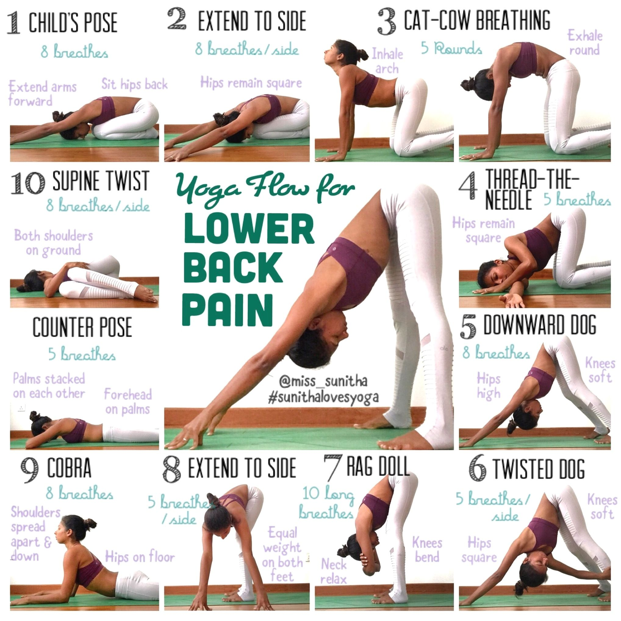 Yoga Positions Good For Back