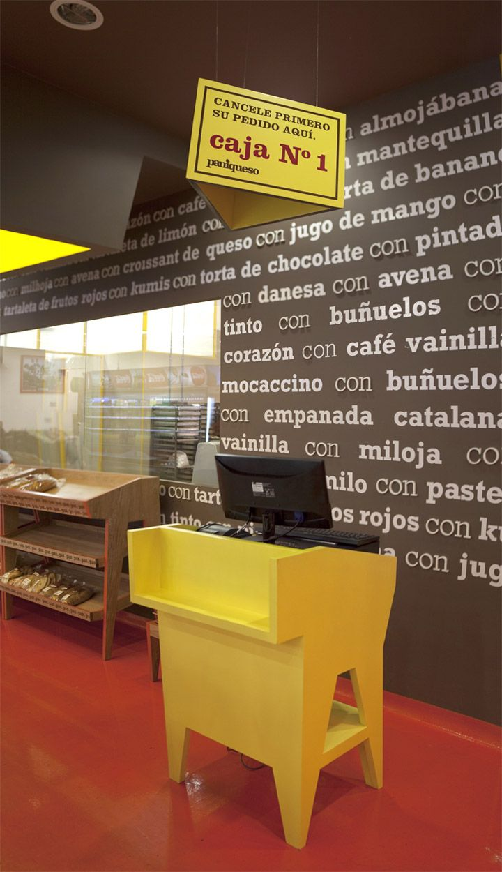 Paniqueso store in Bogota by Oficina Informal