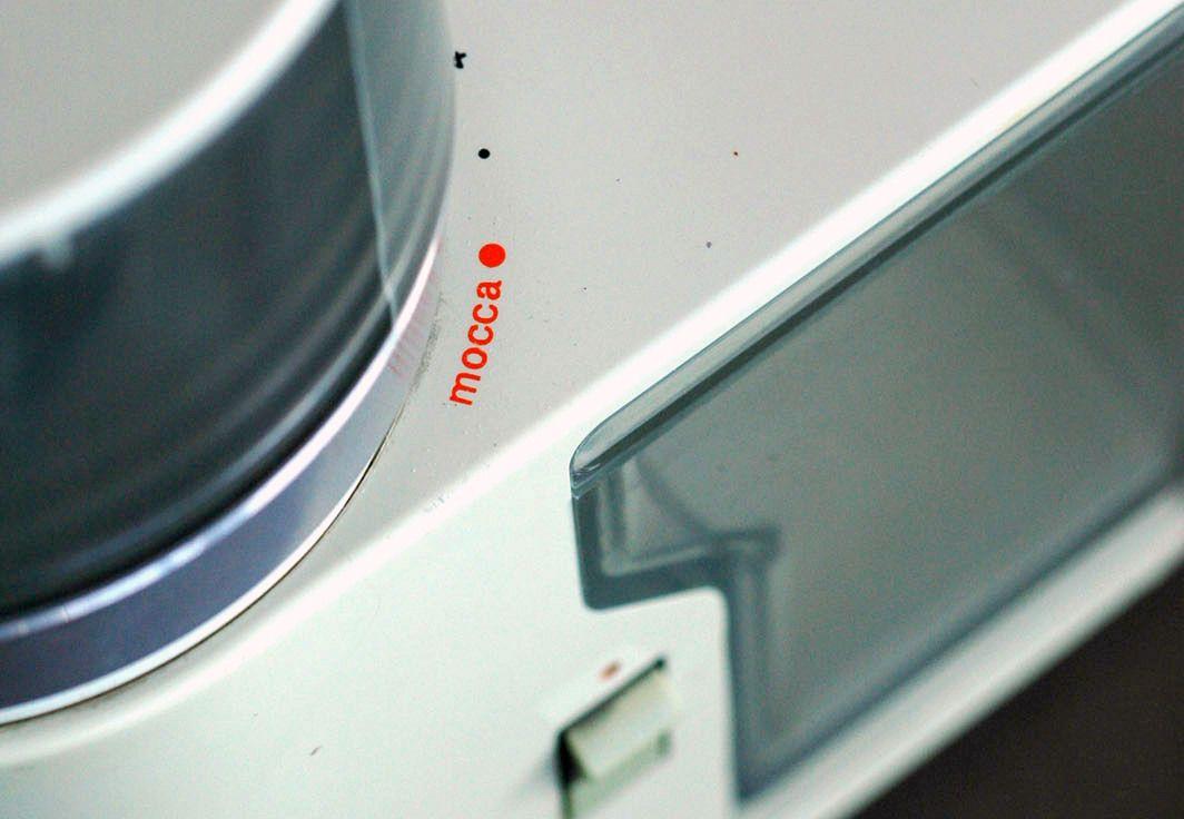 Braun KMM 1 coffee grinder (Reinhold Weiss, 1964)