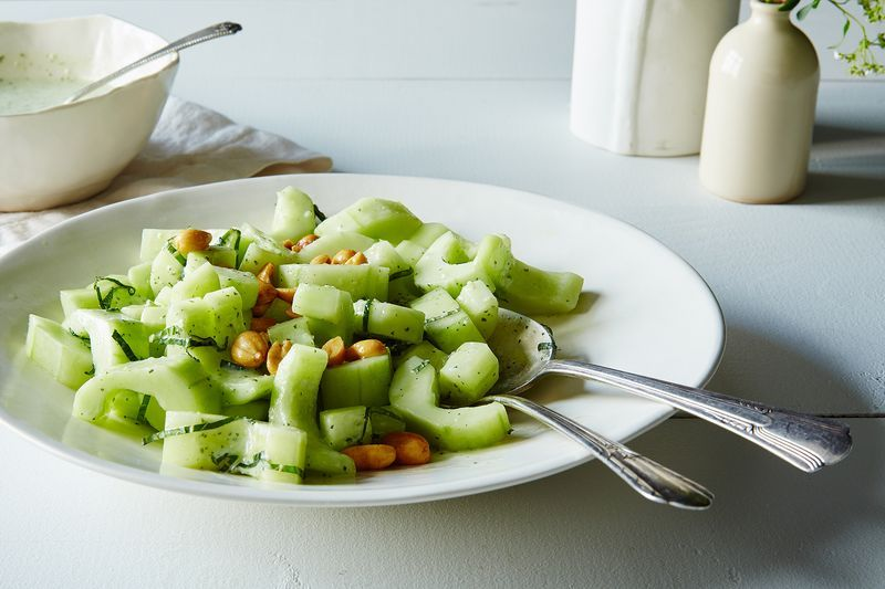 A Refreshing Cucumber Salad that Brings the Heat