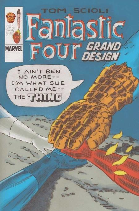 This October Relive History With Fantastic Four Grand Design Fantastic Four Grand Designs Marvel
