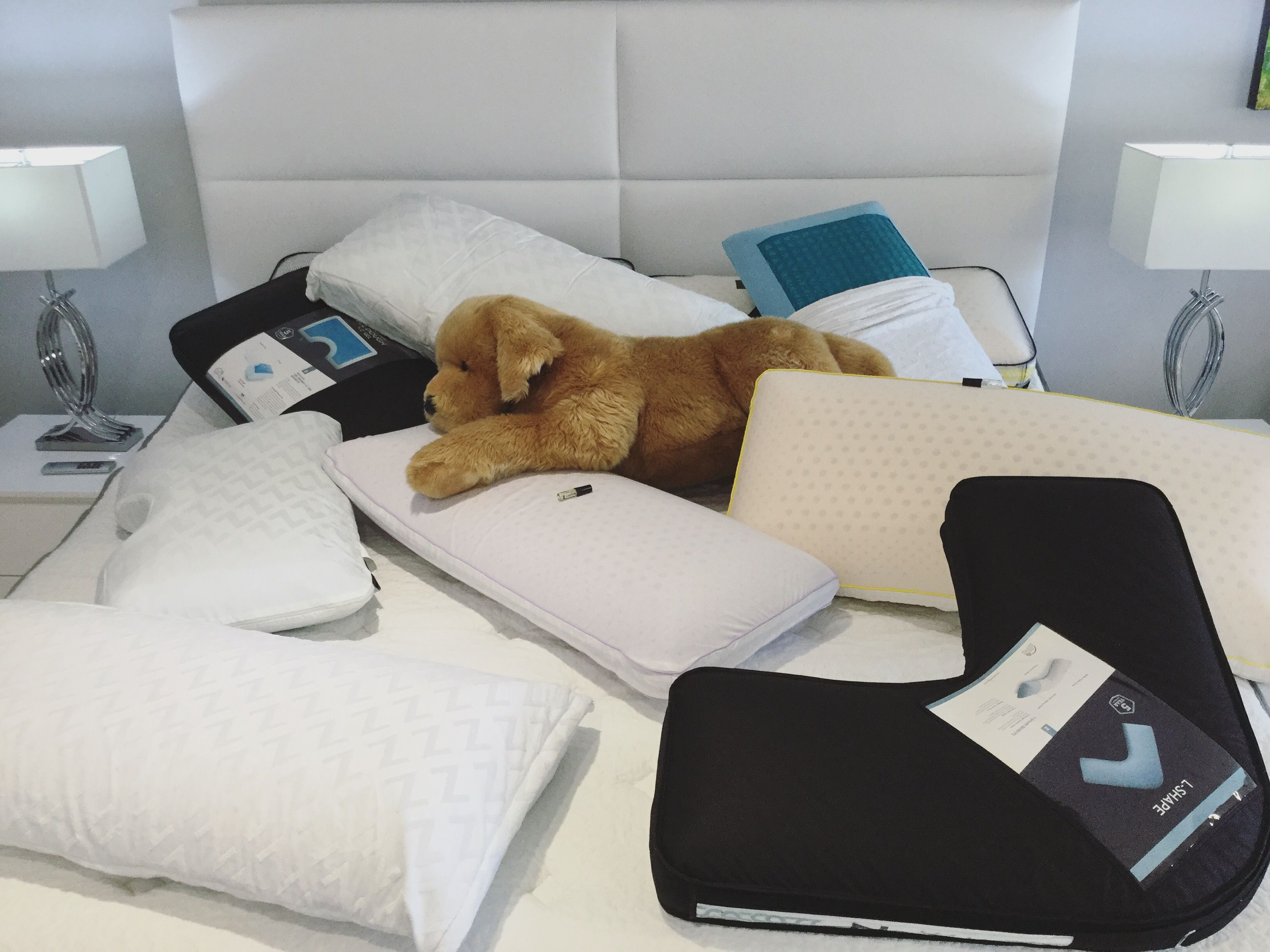 Stop By SoBe Furniture This Week, And Buy Bed Pillows That Have Cool Gel +