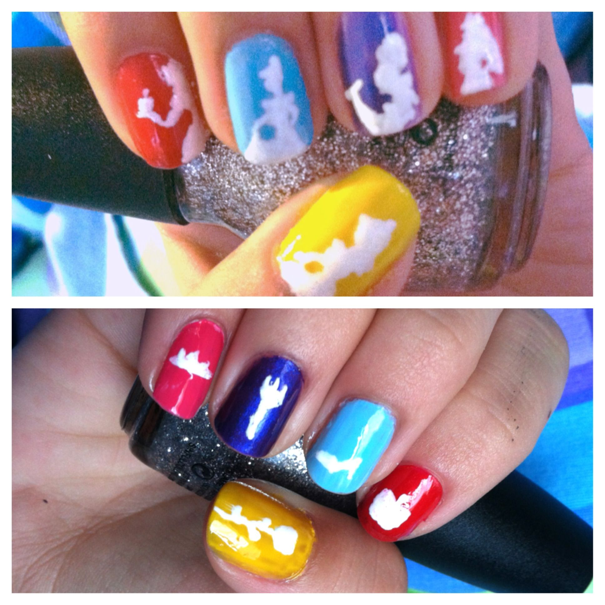 Account Suspended Nail Art Designs Videos Silhouette Nails Nails