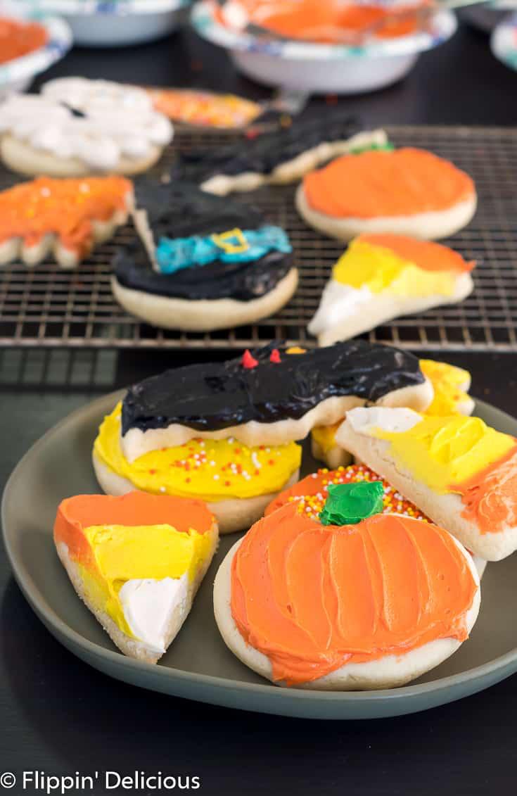 Gluten Free Halloween Sugar Cookie #halloweensugarcookies Gluten Free Halloween Sugar Cookies - #halloweensugarcookies