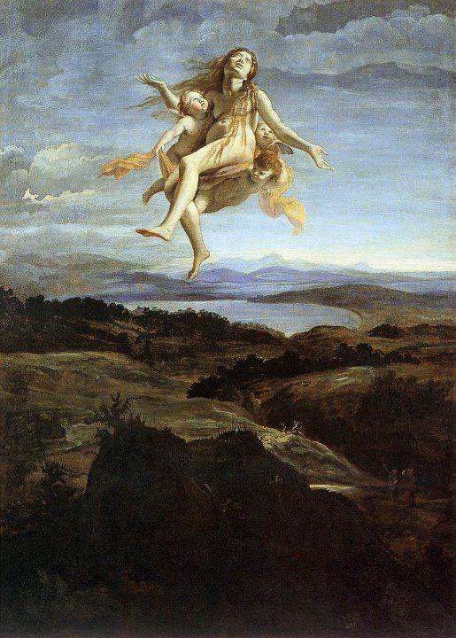 Lanfranco, Giovanni - Maddalena assunta in cielo - c. 1616 Museo Nazionale di Capodimonte