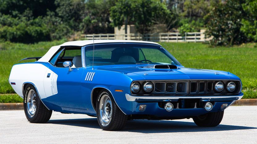 1971 Plymouth Barracuda Convertible | S223 | Indy 2016 | Mecum Auctions