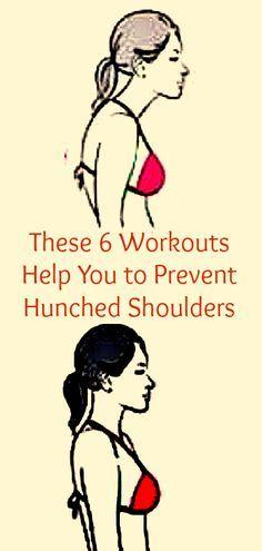 Creo q no te gustaría una joroba ... 6 ejercicios para evitarlo!